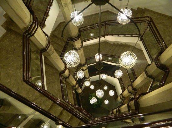 TRYP Valencia Feria: stairway