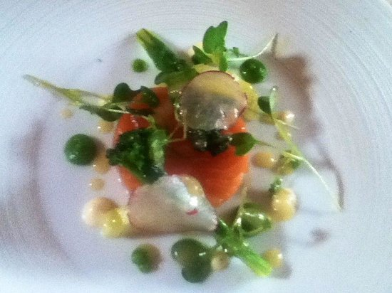 JSW : Loved the cured salmon