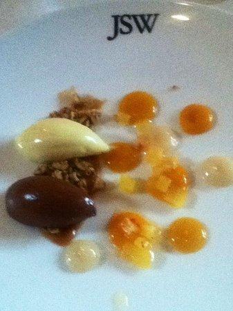 JSW : Gorgeous dessert