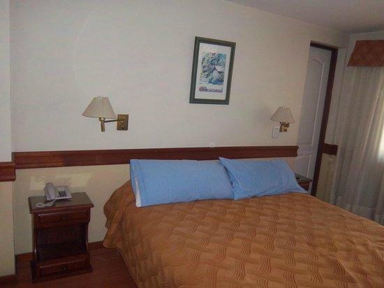 Hotel Patagonia Sur : habitacion..camas muy comodas