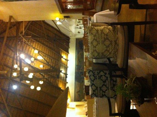 Hippo Hollow Country Estate: La salle de restaurant!