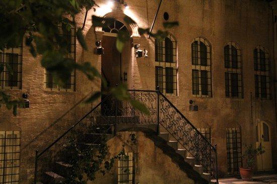 View on the «Anadolu Evleri» inner courtyard