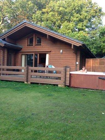 Woodland Holiday Park: lodge 8