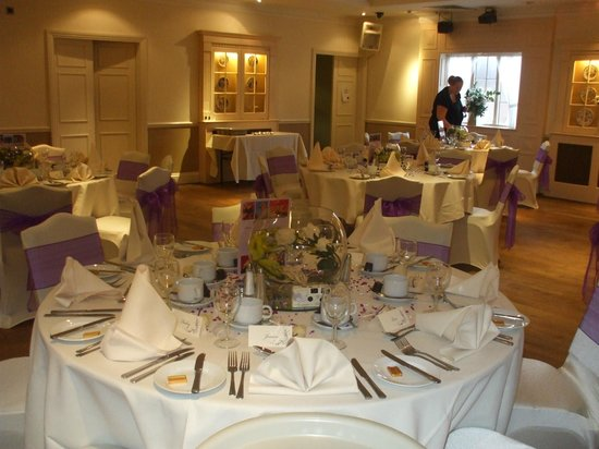 The Barns Hotel: Beautiful function room