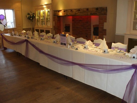 The Barns Hotel: Top Table