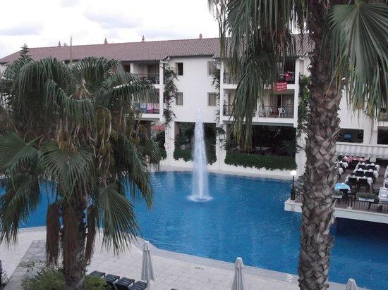 Kentia Apartments: Pool View