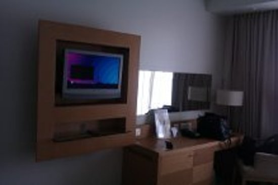 Radisson Blu Anchorage Hotel, Lagos: Large screen TV