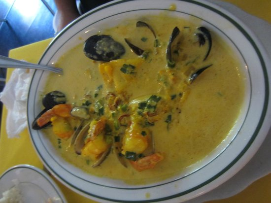 Aromas Del Sur: I don't remember what this one was, just that my husband had a huge smile on his face while eati