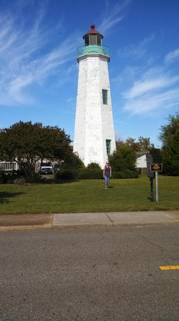 Fort Monroe's Casemate Museum : Old Point Comfort Lighthouse