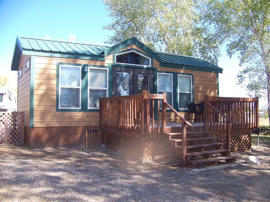Durango KOA: our cabin