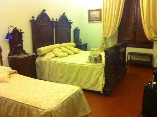 Soggiorno Panerai: Nice, large room