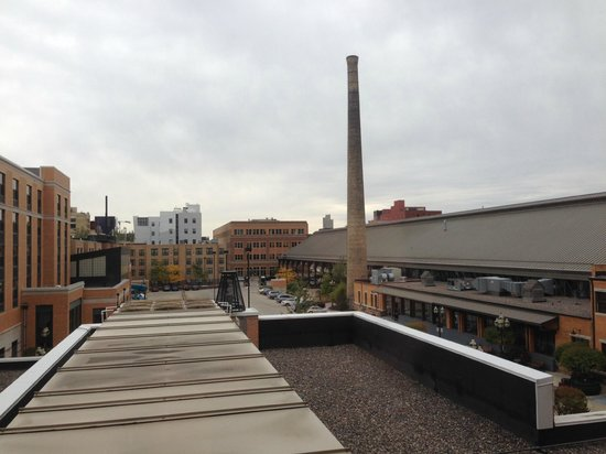 Renaissance Minneapolis Hotel, The Depot: View from room 376.
