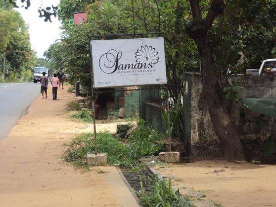 Saman's Guesthouse: Saman's