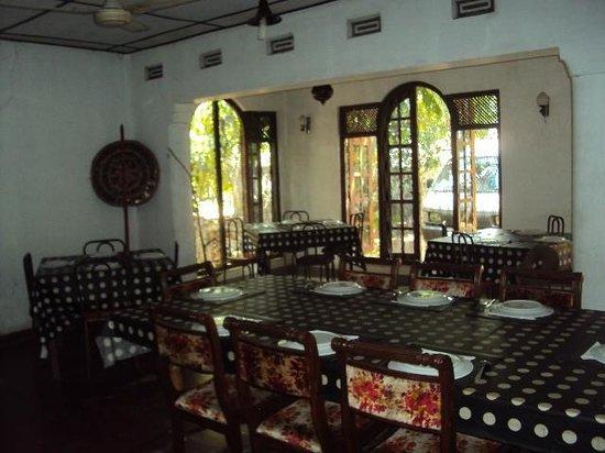 Saman's Guesthouse : Restaurant