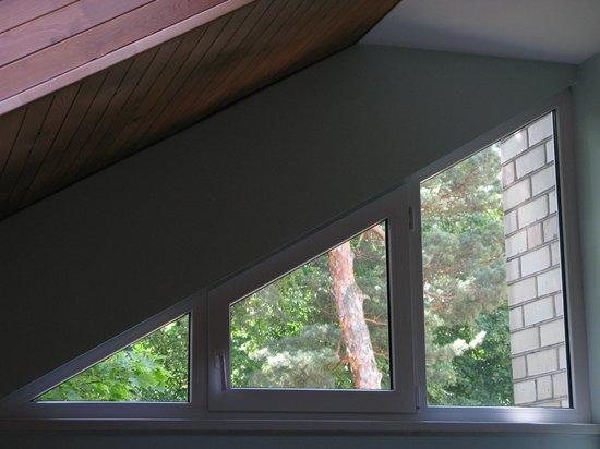 Motel Smilga: The main window of the room