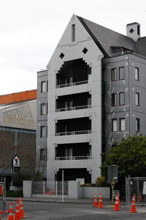 Christchurch YMCA: Does not look shabby at all from the outside