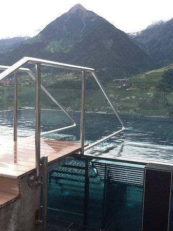 Hotel Hohenwart: piscina salina sul tetto