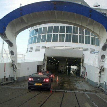 Norfolkline Dunkerque : boarding