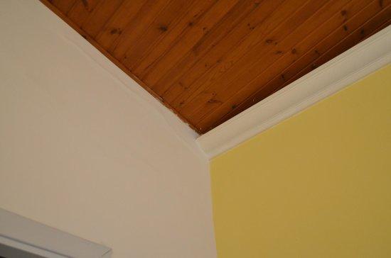 Mini Hotel B&B Spiraglio: particolare dei muri e del soffitto