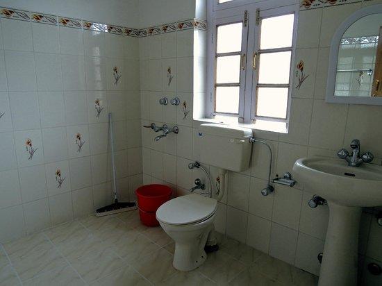 Barath Hotel & Guest House: Bathroom