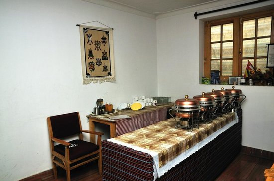 Barath Hotel & Guest House: Dining room