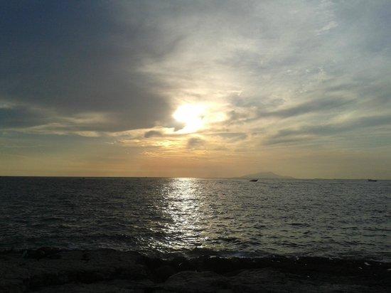 Bagni della Regina Giovanna: tramonto