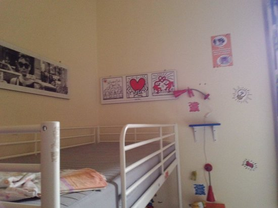 Hostel Pisa Tower : Le dortoir mixte