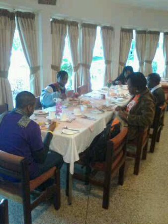 Breakfast at Green Hills Hotel Nyeri Kenya