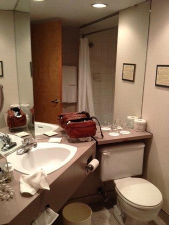 Delta Trois-Rivieres Hotel and Conference Center : salle de bain de la chambre