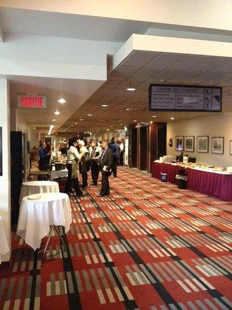Delta Trois-Rivieres Hotel and Conference Center : vue sur les salles de conférence