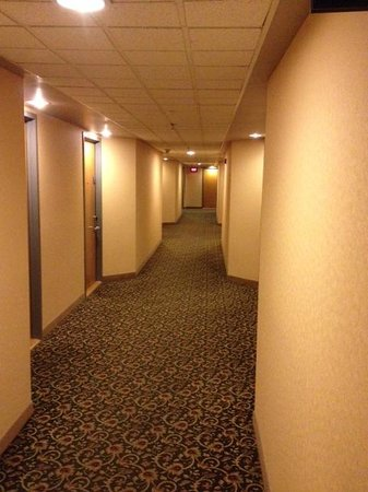 Delta Trois-Rivieres Hotel and Conference Center : couloir a l'hotel