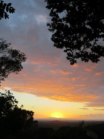 Kara O'Mula Country Lodge: Sunset from Kara O'Mula