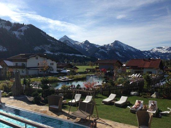 Wellnesshotel Engel : Aussicht Zimmer Westlage
