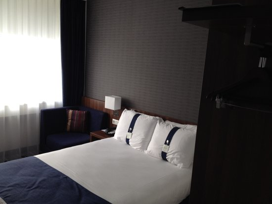 Holiday Inn Express Rotterdam - Central Station : A very good sleeping bed.