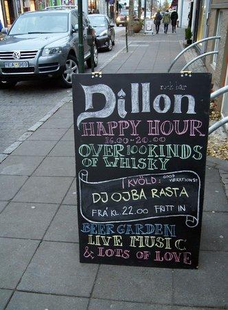 "Dillon Whiskey Bar: ""Happy Hour"""