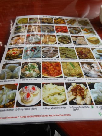 Dim sum picture menu rosewood chinese cuisine toronto for Asian cuisine toronto