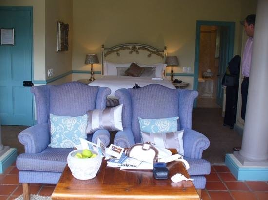 Franschhoek Country House & Villas : Inside room 2