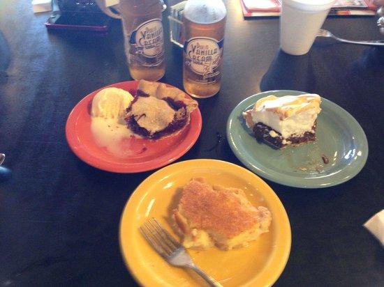 Pie Peddlers: Buttermilk, Very Berry, & Chocolate Meringue with Dublin Cream Soda