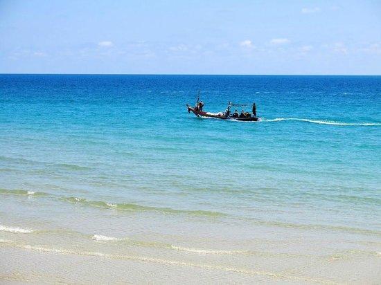 Samui Paradise Chaweng Beach Resort: Aussicht von der Bistro-Terrasse