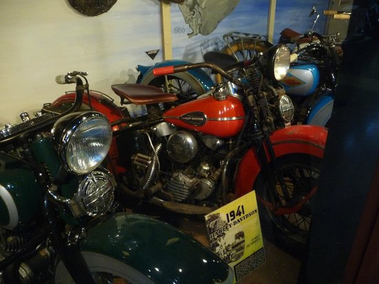 Nice wwii harley wla bike picture of rocky mountain for Rocky mountain motor sports