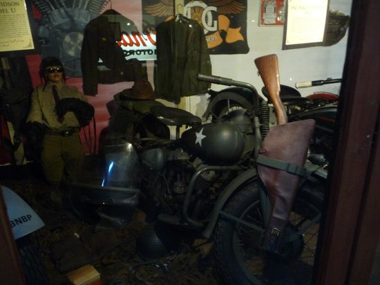 Nice WWII Harley WLA bike - Picture of Rocky Mountain Motorcycle