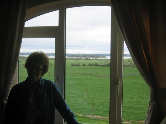 Bunratty Meadows Bed and Breakfast : Looking out our window