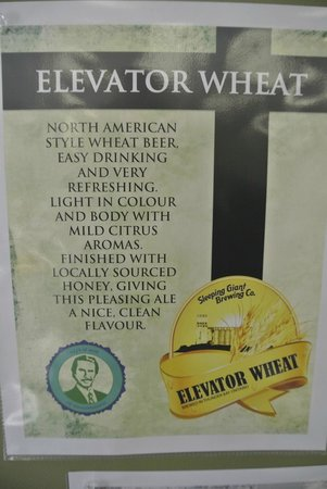 Sleeping Giant Brewery : the wheat beer