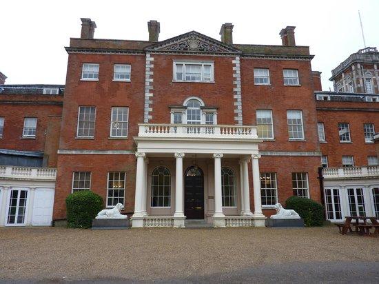 De Vere Theobalds Estate: Main entrance to old Mansion