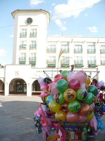 Fiesta Americana Aguascalientes: Fachada del hotel