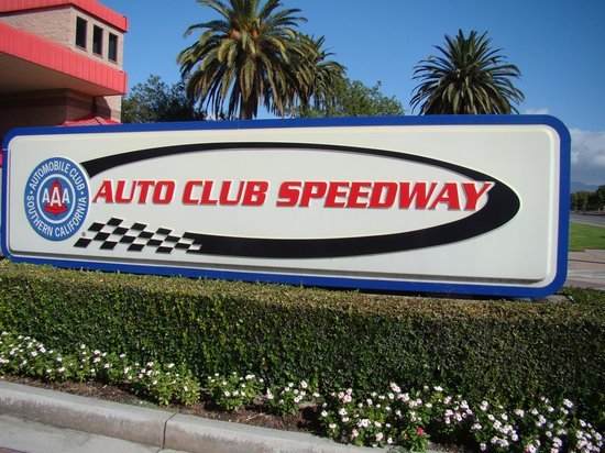 Auto Club Speedway: Front entrance