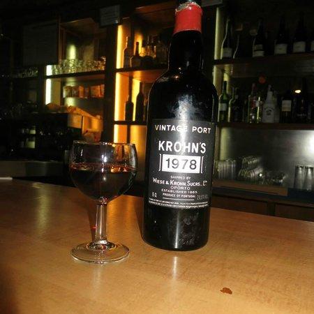 Natraj Indian Tandoori : Vintage wine!
