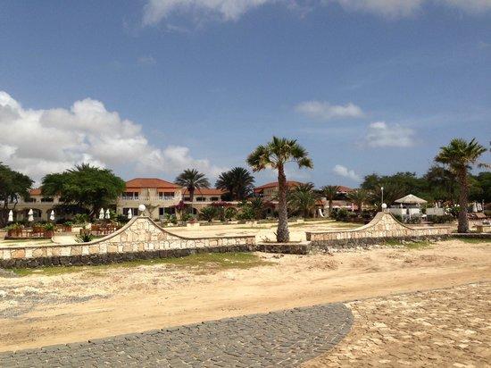Hotel Morabeza : Die Promenade