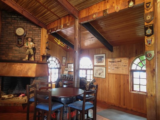 Aero Club of East Africa: The Club room at the East Africa Aero Club
