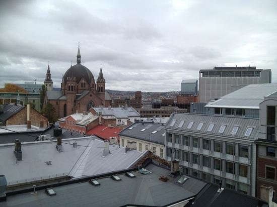 Thon Hotel Munch : View from the balcony.